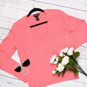 NY&Co. Coral Sweater